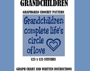 Grandchildren - Graphghan Crochet Pattern