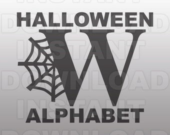 Halloween Font SVG File -For Commercial & Personal Use- vector svg, svg cutting file, cut file svg, cuttable svg, svg cut file