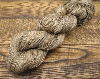 Taupiary - Alpaca Silk Lace Yarn Hand Dyed Yarn - In Stock