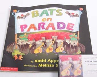 Bats on Parade - Picture Book and Audio Cassette Tape - Kathi Appelt