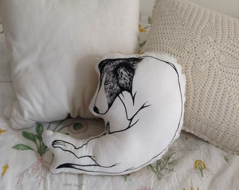 Jack Russell Terrier dog pillow