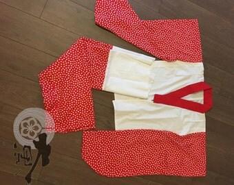 Brand new two pieces Maiko Nibushiki-Nagajuban Set ready to wear