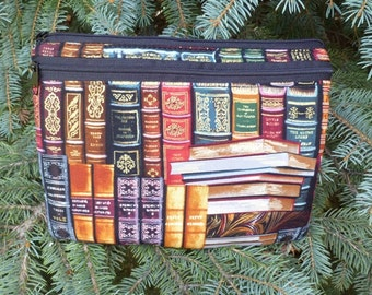Padded case for larger tablets and netbooks, with optional shoulder strap or wristlet, Classic Books,  The Boc Deluxe