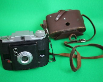 VINTAGE Ansco brand camera with original case