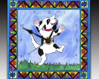 Dancing Dog Clock