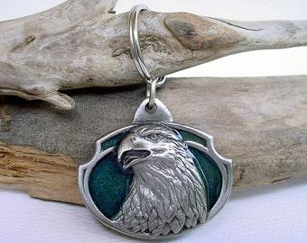 1985 Siskiyou Buckle Co Eagle Key Ring