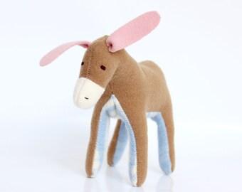 softie - little donkey, toffee