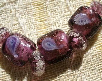 SRA Lampwork Glass Beads by Catalinaglass