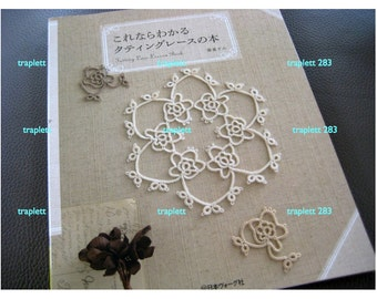 Japanese Craft Pattern Book Tatting Lace Lessons