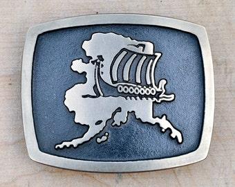Viking Belt Buckle, Nautical Belt Buckle, Sailing Belt Buckle, Scandinavian Belt Buckle, Bronze Belt Buckle, Square Belt Buckle,
