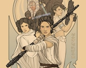 "Limited Edition Star Wars Celebration 2016 Europe Exclusive Print - ""Strength"""