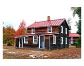 Cooking Cottage Whitesbog Historic Village New Jersey Fine Art Photograph