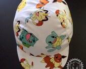 Large Cotton Cycling Cap (Pokemon)