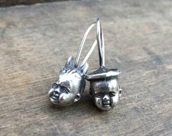 Angel Devil Baby Earrings