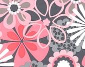 Michael Miller Flower Shower in Petal Pink by the yard CX4065-PETA-D