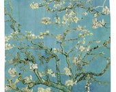Almond Blossoms, van Gogh Shower Curtain Printed in USA