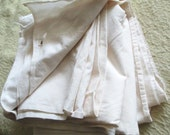 Vintage Cotton Muslin Supply Yardage White Quilting FREE SHIPPING tnt