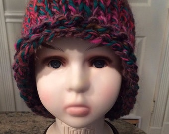 Super FAST Bulky Knit Hat Pattern / Instant Download /