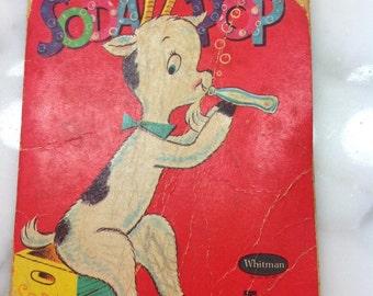 Vintage Whitman Tiny Tales Soda Pop Book