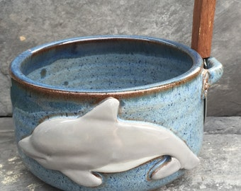 Lester the Dolphin Dip Bowl