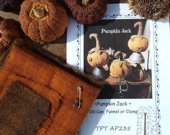 Pumpkin Jack Wool Kit Pattern