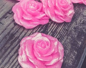 Cottage Rose, Garden Party, Rose Soap, Gift Packaging, Soap Favor, Summer Wedding, Shower Favor, Wedding,  Birthday Party, Blooming Rose