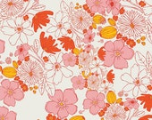 Leas Bloom Blush from the Meadow collection by Leah Duncan for Art Gallery Fabrics