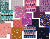 SALE Complete Penny Arcade by Kim Kight - Fall 2015 Cotton and Steel Fabric - Bundle of 18 Fat Quarters
