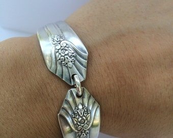 Spoon Handle Bracelet with Magnetic clasp