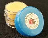 ORGANIC LIP BALM 100% All Natural Vegan Orange Peppermint Stevia Flavored Pure Cocoa Shea Butter Gloss Therapy Jar Pot