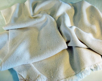Handwoven Silk Fabric -- woven by seller, in the USA