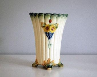 Van Briggle Vase 1920s Indian Head Vase Fine Art By