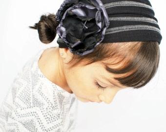 Black Headband for Women Headbands for Kids Soft Cotton Hair Accessories Headwrap Nonslip Headband Yoga Headband Fitness Headband Baby Turba