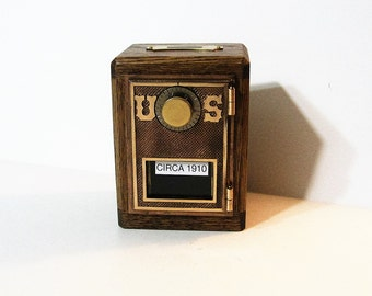 Post Office Box Door 1910 Bank Safe Antique