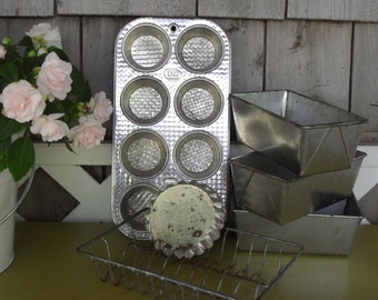 Vintage Mini Baking Pans and Tins Collection