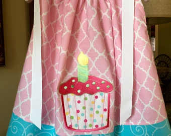 Baby's 1st Birthday Dress 12-18 months --- Ready to Ship