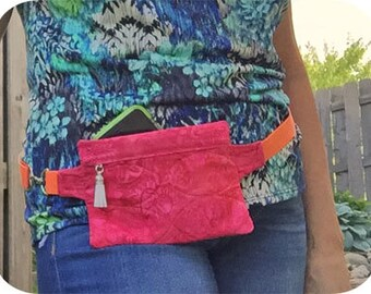 In the Hoop Fanny Packs Machine Embroidery Designs Instant Download