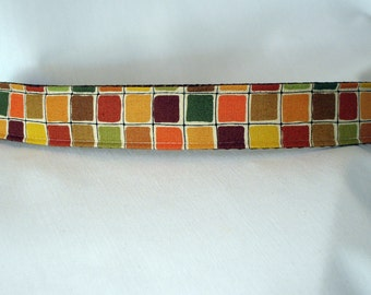 Fall Dog Collar - Large - 1 inch wide - ready to ship