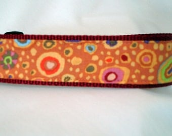 Kaffe Fasset Dog Collar - 1.5 Inches Wide - Ready To Ship