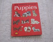 Vintage Book - The Wonder Book of Puppies 1963