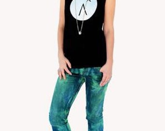 Just our logo slouch tank by agoraphobix