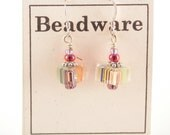 Colorful Furnace Glass Earrings