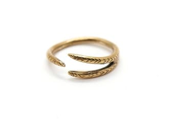 Split Ring // bronze or sterling silver