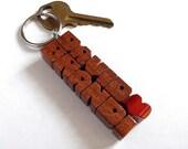 Cumaru Wood 2-Liner Love ...