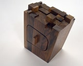 Small Walnut Scrap Wood Bandsaw Box