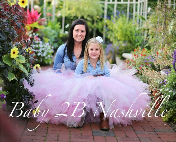 Mommy and Me Tutu Skirt  Womens Skirt Adult Tutu Skirt Womens Tutu Shabby Chic Pink Tulle Skirt Perfect for Weddings and Portraits