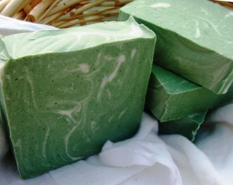 Peppermint Foot Scrub Soap
