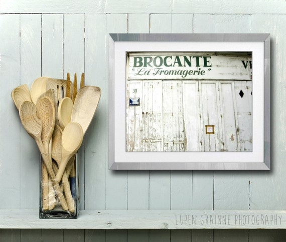 French Kitchen Wall Art Rustic Kitchen Decor Old By