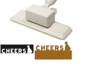 "NEW Martha Stewart ""Cheers"" Edge Punch w/ Party Hat M284111W Birthday EK Success"