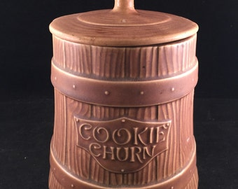Vintage Cookie Churn Cookie Jar
